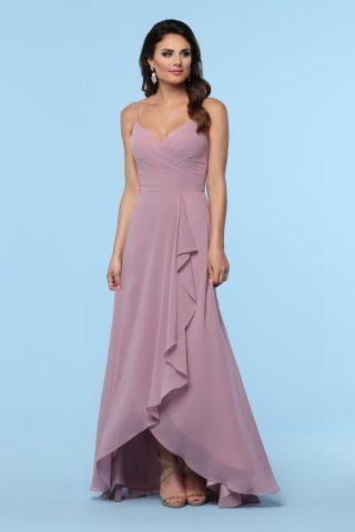 woman in da vinci bridesmaid dress